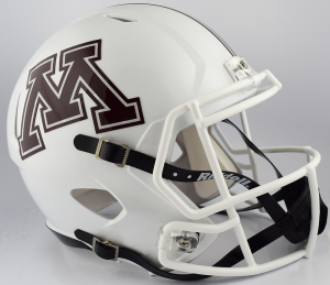 Riddell NCAA Minnesota Golden Gophers 2018 White Replica Speed Full Size Football Helmet