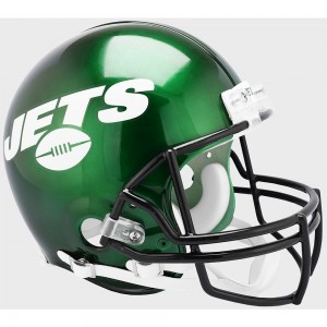 Riddell NFL New York Jets 2019 Authentic Vsr4 Full Size Football Helmet