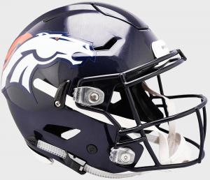Riddell NFL Denver Broncos Authentic SpeedFlex Full Size Football Helmet