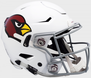 Riddell NFL Arizona Cardinals Authentic SpeedFlex Full Size Football Helmet