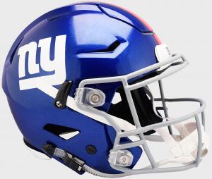 Riddell NFL New York Giants Authentic SpeedFlex Full Size Football Helmet