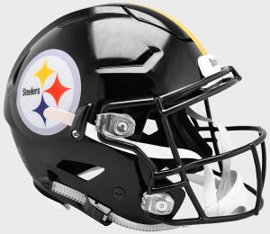 Riddell NFL Pittsburgh Steelers Authentic SpeedFlex Full Size Football Helmet