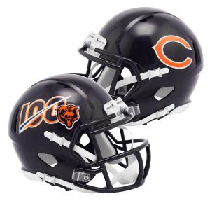 Chicago Bears 100th Anniversary Riddell Mini Speed Helmet