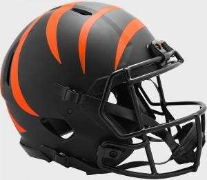 Cincinnati Bengals 2020 Eclipse Riddell Full Size Authentic Speed Helmet