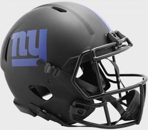 New York Giants 2020 Eclipse Riddell Full Size Authentic Speed Helmet
