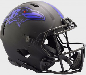 Baltimore Ravens 2020 Eclipse Riddell Full Size Authentic Speed Helmet