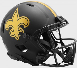 New Orleans Saints 2020 Eclipse Riddell Full Size Authentic Speed Helmet