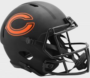 Chicago Bears 2020 Eclipse Riddell Full Size Replica Speed Helmet