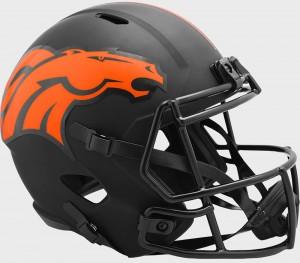Denver Broncos 2020 Eclipse Riddell Full Size Replica Speed Helmet