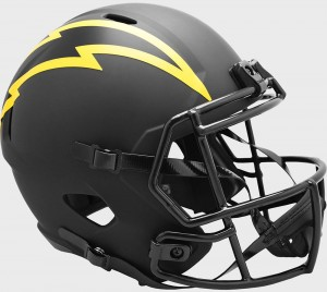 Los Angeles Chargers 2020 Eclipse Riddell Full Size Replica Speed Helmet