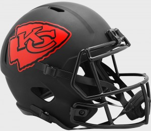Kansas City Chiefs 2020 Eclipse Riddell Full Size Replica Speed Helmet