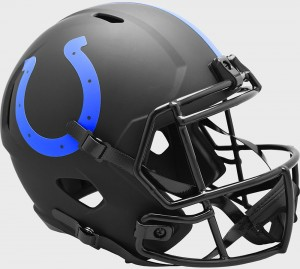 Indianapolis Colts 2020 Eclipse Riddell Full Size Replica Speed Helmet