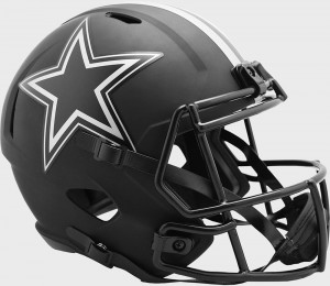 Dallas Cowboys 2020 Eclipse Riddell Full Size Replica Speed Helmet