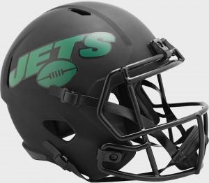 New York Jets 2020 Eclipse Riddell Full Size Replica Speed Helmet