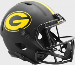 Green Bay Packers 2020 Eclipse Riddell Full Size Replica Speed Helmet