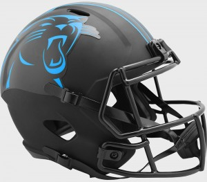 Carolina Panthers 2020 Eclipse Riddell Full Size Replica Speed Helmet