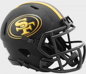 San Francisco 49ers 2020 Eclipse Riddell Mini Speed Helmet