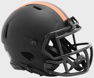 Cleveland Browns 2020 Eclipse Riddell Mini Speed Helmet
