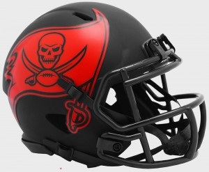 Tampa Bay Buccaneers 2020 Eclipse Riddell Mini Speed Helmet