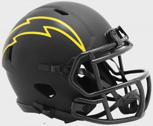 Los Angeles Chargers 2020 Eclipse Riddell Mini Speed Helmet