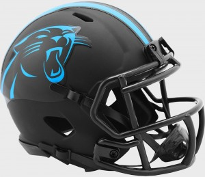Carolina Panthers 2020 Eclipse Riddell Mini Speed Helmet