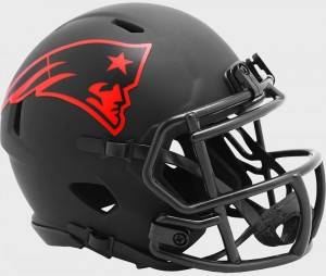 New England Patriots 2020 Eclipse Riddell Mini Speed Helmet