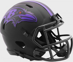 Baltimore Ravens 2020 Eclipse Riddell Mini Speed Helmet