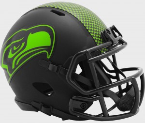 Seattle Seahawks 2020 Eclipse Riddell Mini Speed Helmet