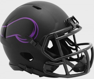 Minnesota Vikings 2020 Eclipse Riddell Mini Speed Helmet