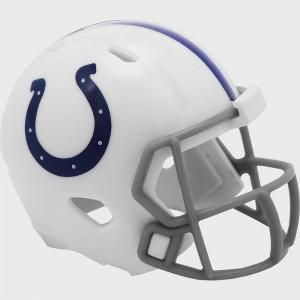 Indianapolis Colts 2020 Riddell Pocket Pro Speed Helmet
