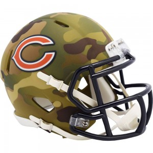Chicago Bears 2020 Camo Riddell Mini Speed Helmet