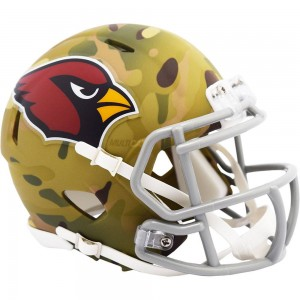 Arizona Cardinals 2020 Camo Riddell Mini Speed Helmet