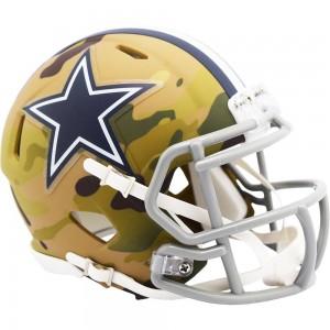 Dallas Cowboys 2020 Camo Riddell Full Size Replica Speed Helmet