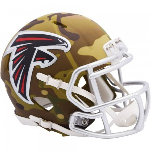 Atlanta Falcons 2020 Camo Riddell Mini Speed Helmet
