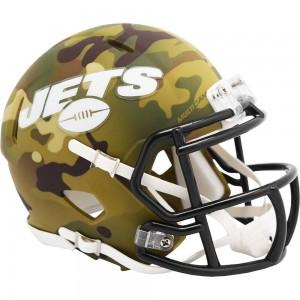 New York Jets 2020 Camo Riddell Full Size Replica Speed Helmet