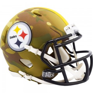 Pittsburgh Steelers 2020 Camo Riddell Full Size Authentic Speed Helmet