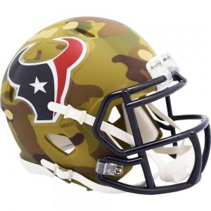 Houston Texans 2020 Camo Riddell Full Size Replica Speed Helmet