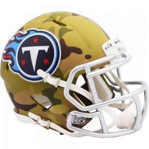 Tennessee Titans 2020 Camo Riddell Mini Speed Helmet