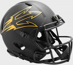Arizona St Sun Devils 2020 Eclipse Riddell Full Size Authentic Speed Helmet