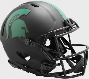 Michigan St Spartans 2020 Eclipse Riddell Full Size Authentic Speed Helmet