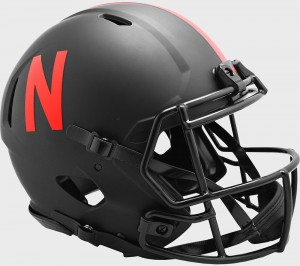 Nebraska Cornhuskers 2020 Eclipse Riddell Full Size Authentic Speed Helmet