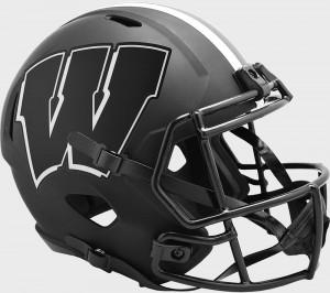 Wisconsin Badgers 2020 Eclipse Riddell Full Size Replica Speed Helmet