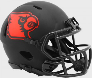 Louisville Cardinals 2020 Eclipse Riddell Mini Speed Helmet