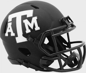 Texas A&M Aggies 2020 Eclipse Riddell Mini Speed Helmet