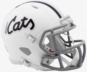 Kansas St Wildcats Revolution Speed Mini Helmet