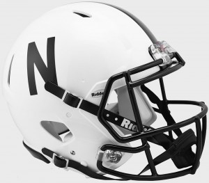 Nebraska Cornhuskers Authentic Revolution Speed Full Size Helmet