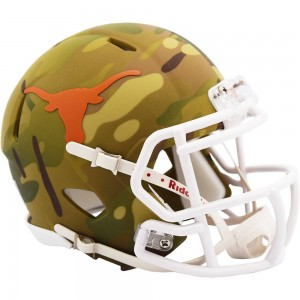 Texas Longhorns 2020 Camo Riddell Mini Speed Helmet