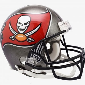 Tampa Bay Buccaneers 2020 Riddell Full Size Authentic Vsr4 Helmet