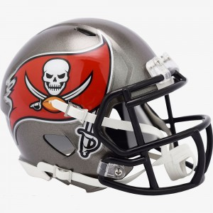 Tampa Bay Buccaneers 2020 Riddell Mini Speed Helmet