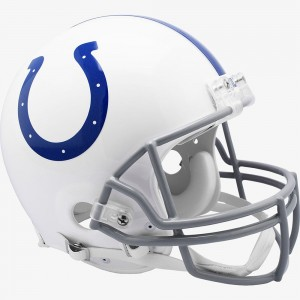 Indianapolis Colts 2020 Riddell Full Size Authentic Vsr4 Helmet
